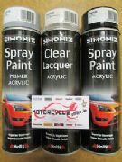 Simoniz spray paint black gloss acrylic 500ml